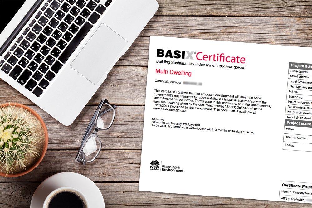Get a BASIX Certificate